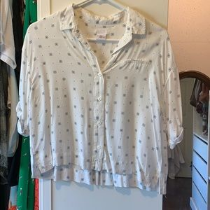 Urban Outfitters bowling shirt